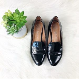 Jeffery Campbell Black Elegant Loafer Flats